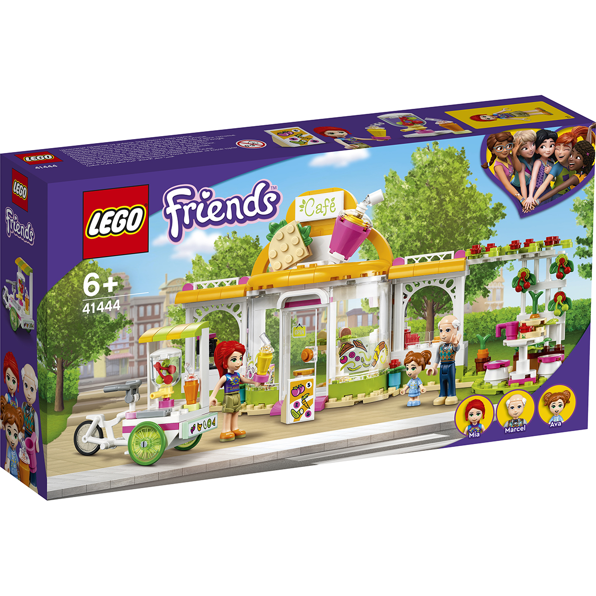 LEGO® Friends - Cafeneaua organica din Heartlake City (41444)
