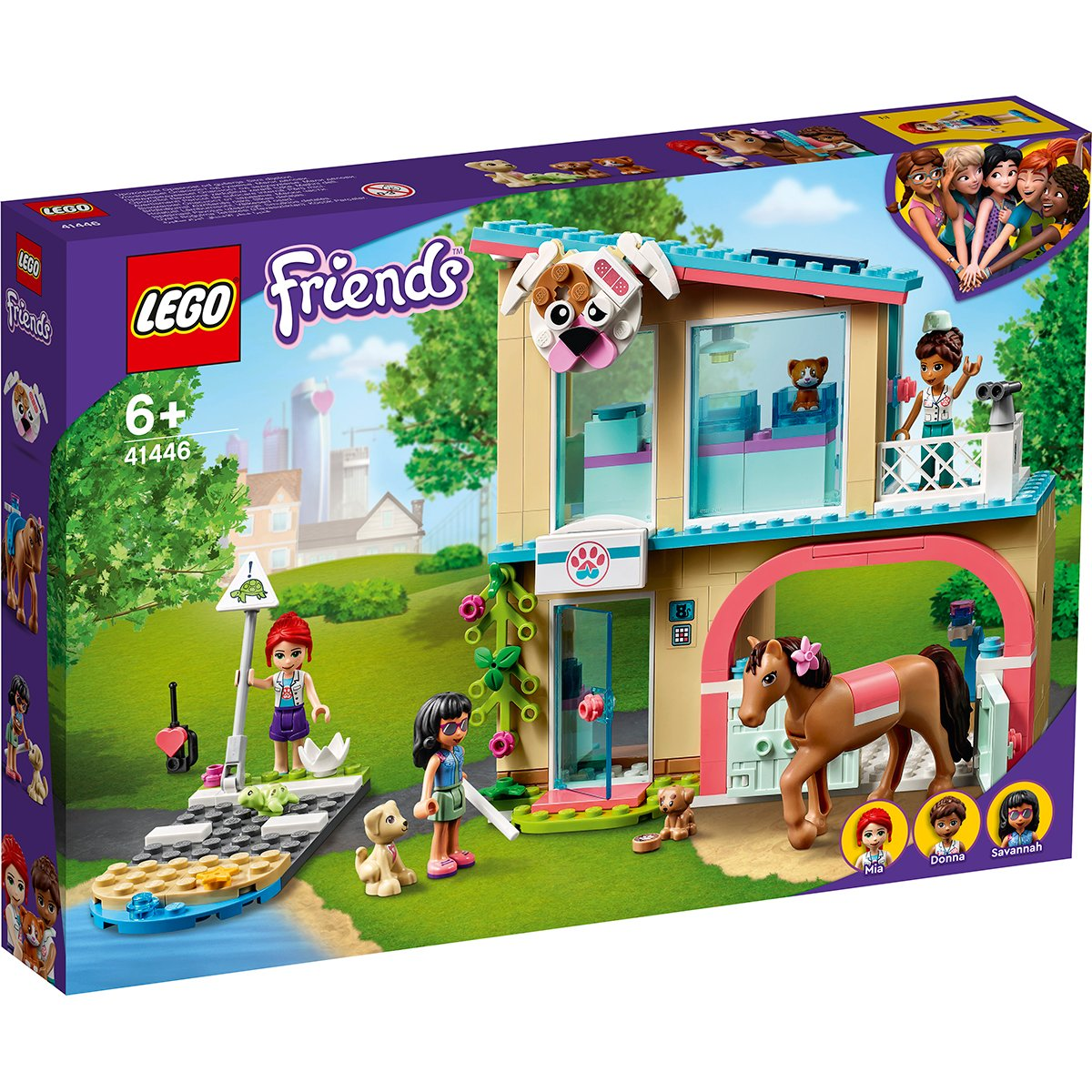LEGO® Friends - Clinica veterinara Heartlake City (41446)