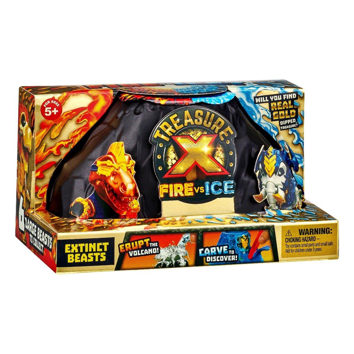 Figurina surpriza Treasure X Foc vs Gheata, Bestii, S4 imagine