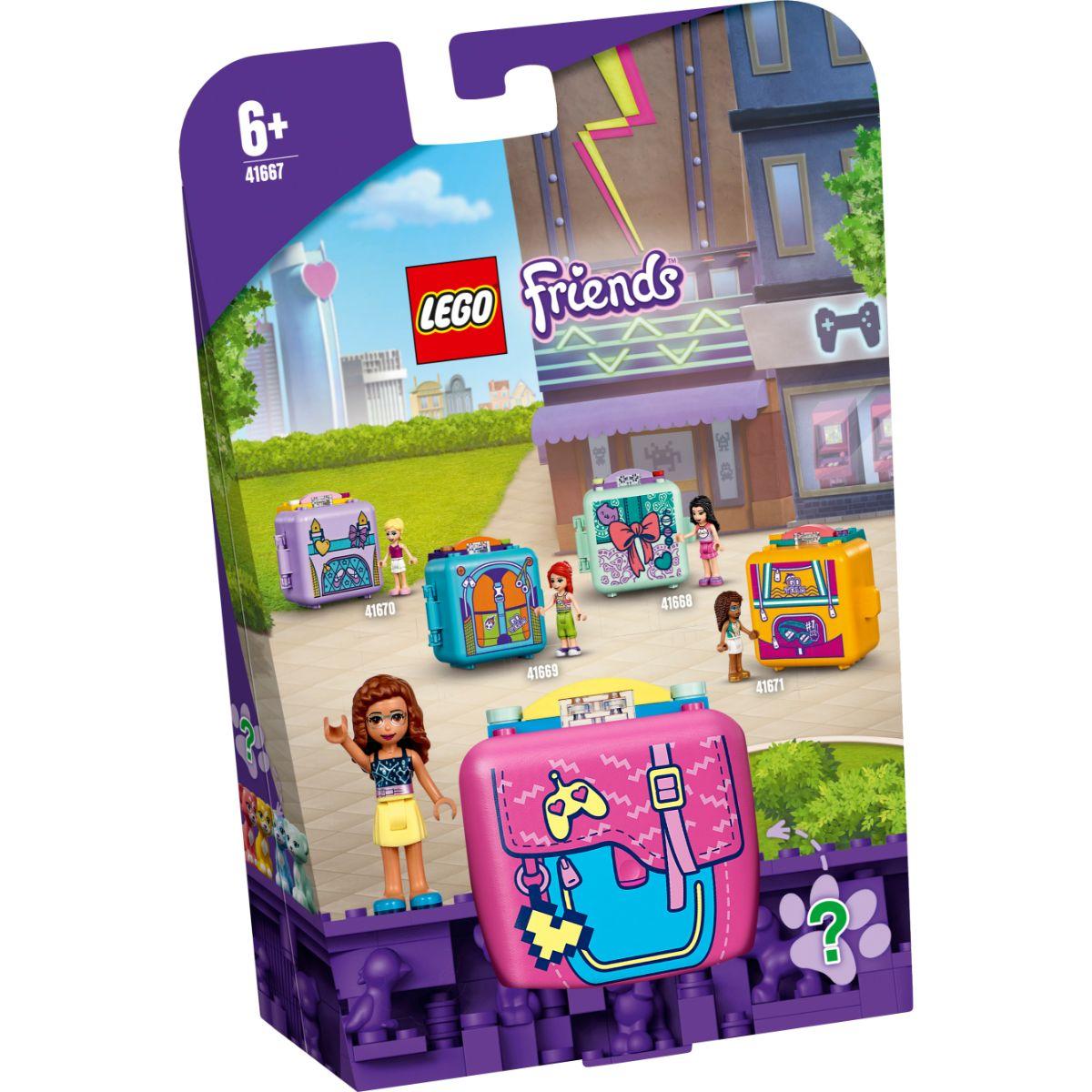 LEGO® Friends - Cubul de jocuri al Oliviei (41667)