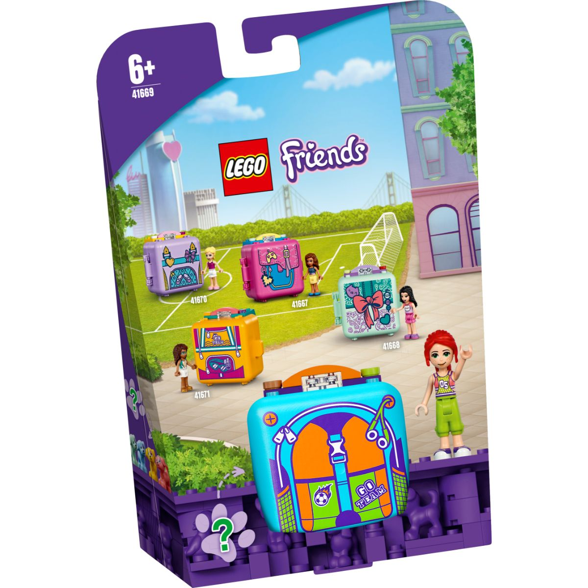 LEGO® Friends - Cubul de fotbal al Miei (41669)
