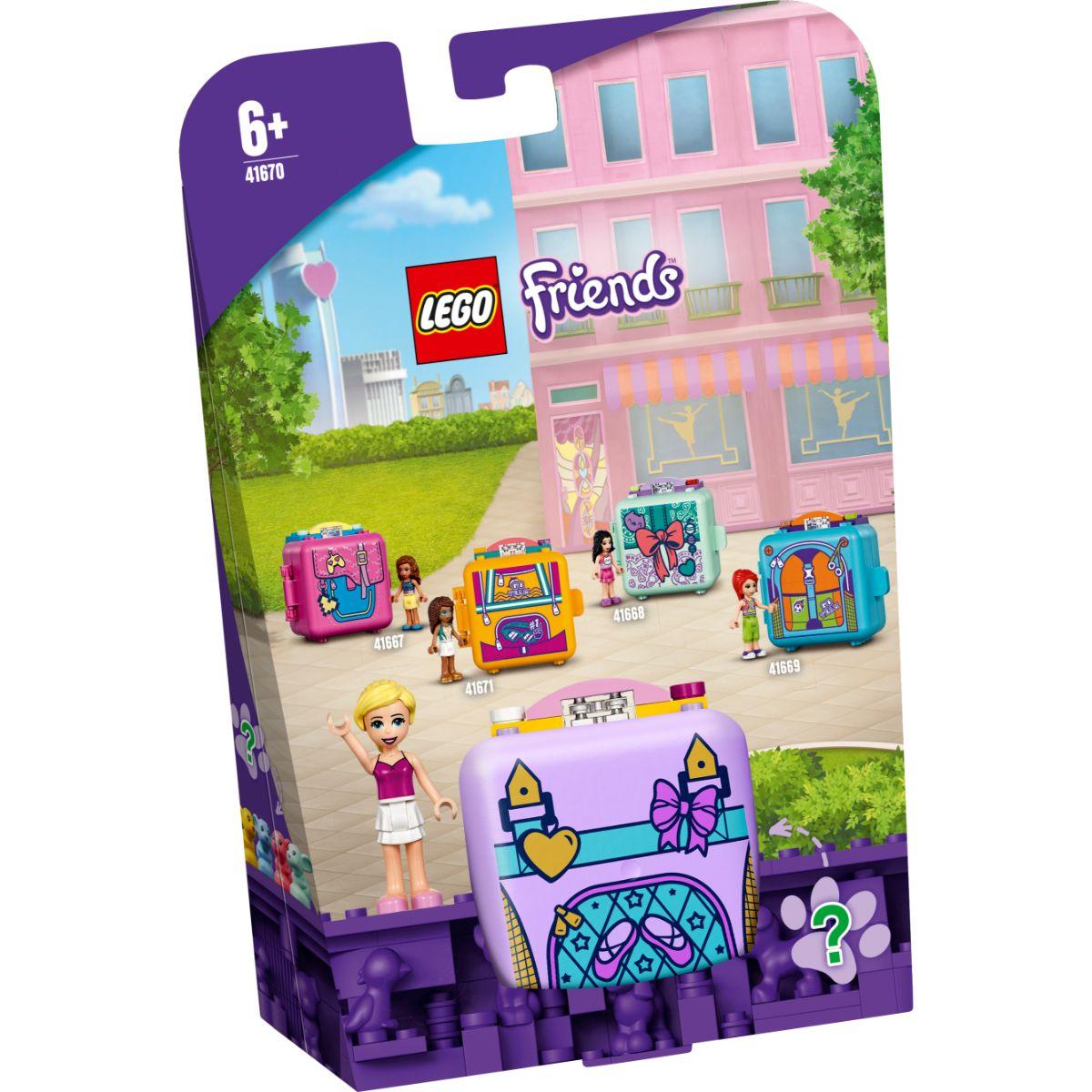LEGO® Friends - Cubul de balet al Stephaniei (41670)