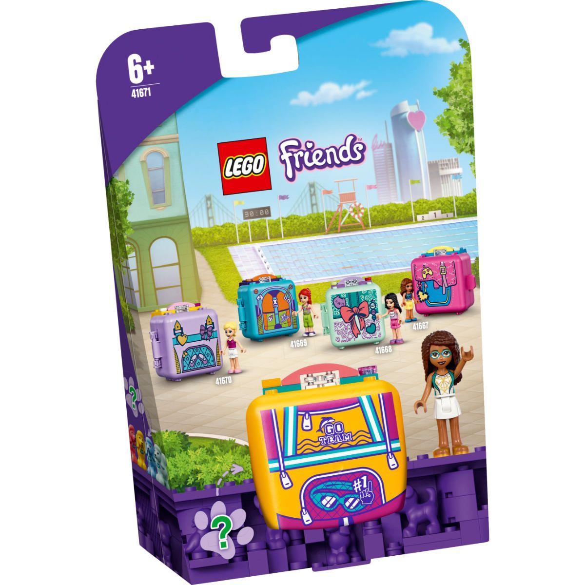 LEGO® Friends - Cubul de inot al Andreei (41671)