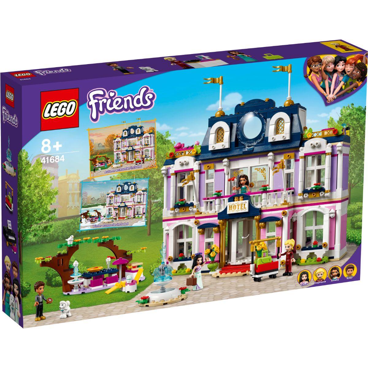 Lego® Friends - Grand Hotel In Orasul Heartlake (41684)