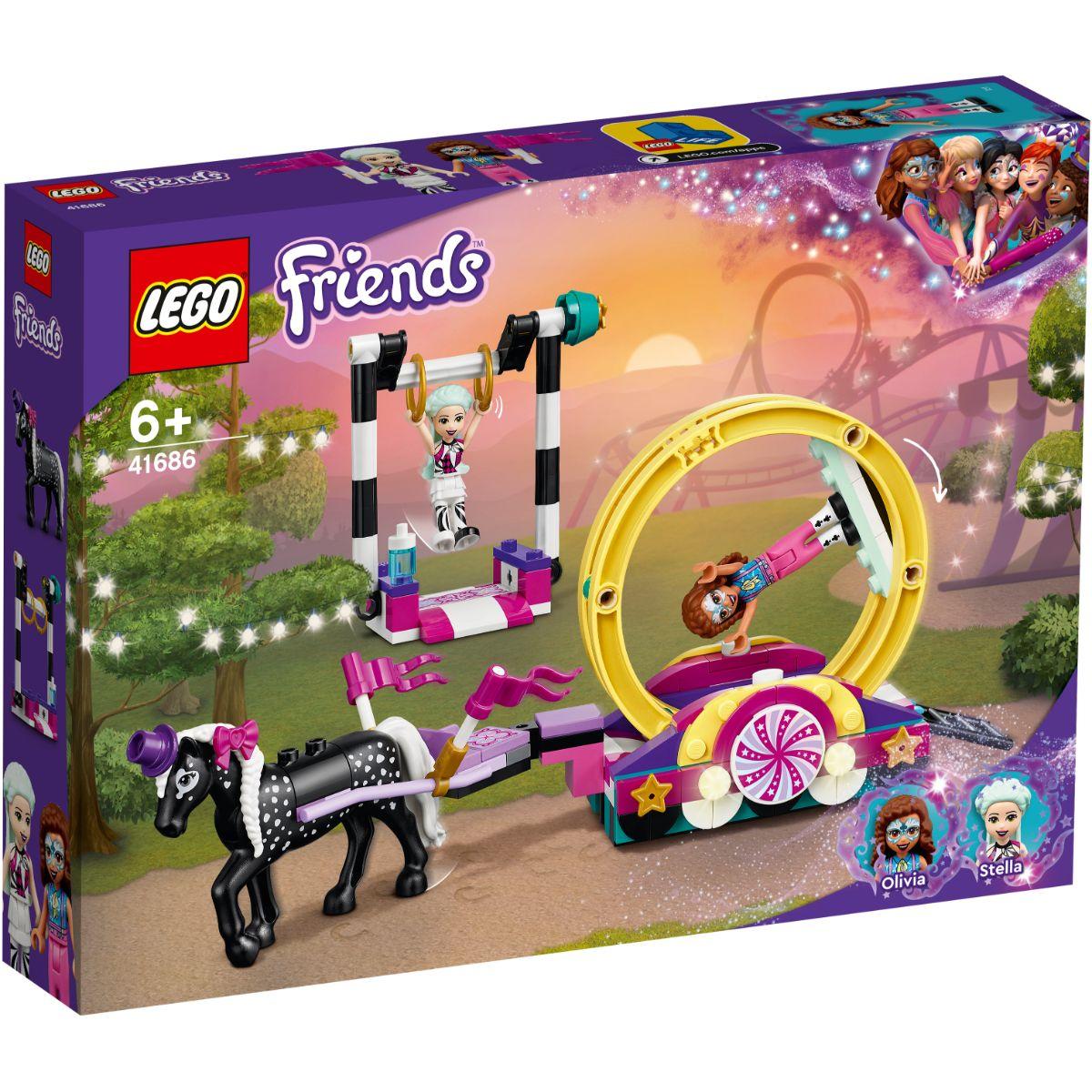 LEGO® Friends - Acrobatii magice (41686)