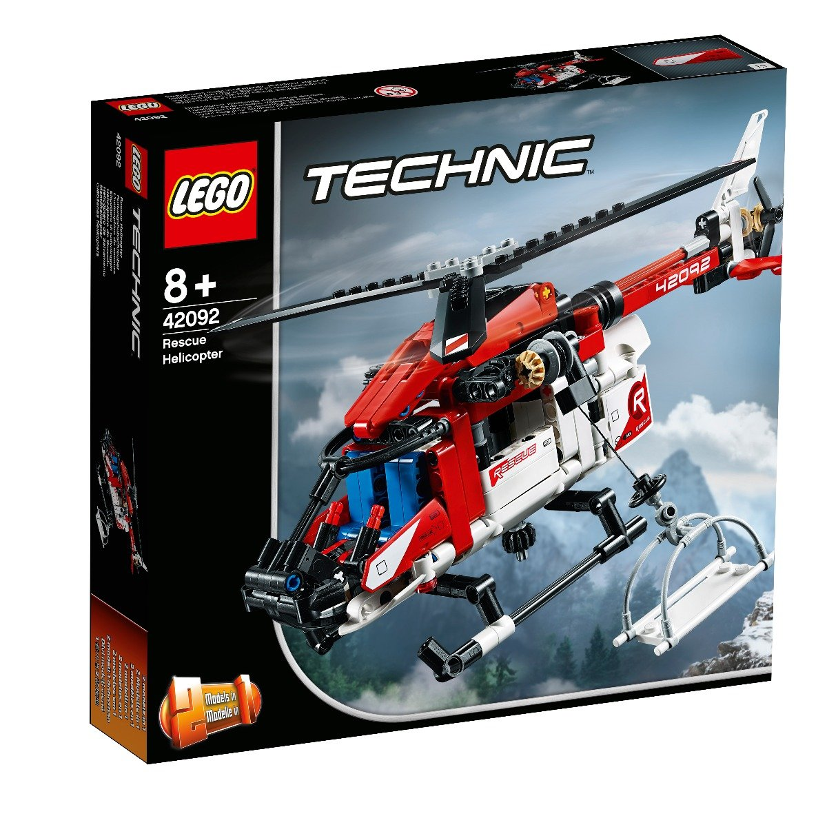 LEGO® Technic Elicopter de salvare (42092)