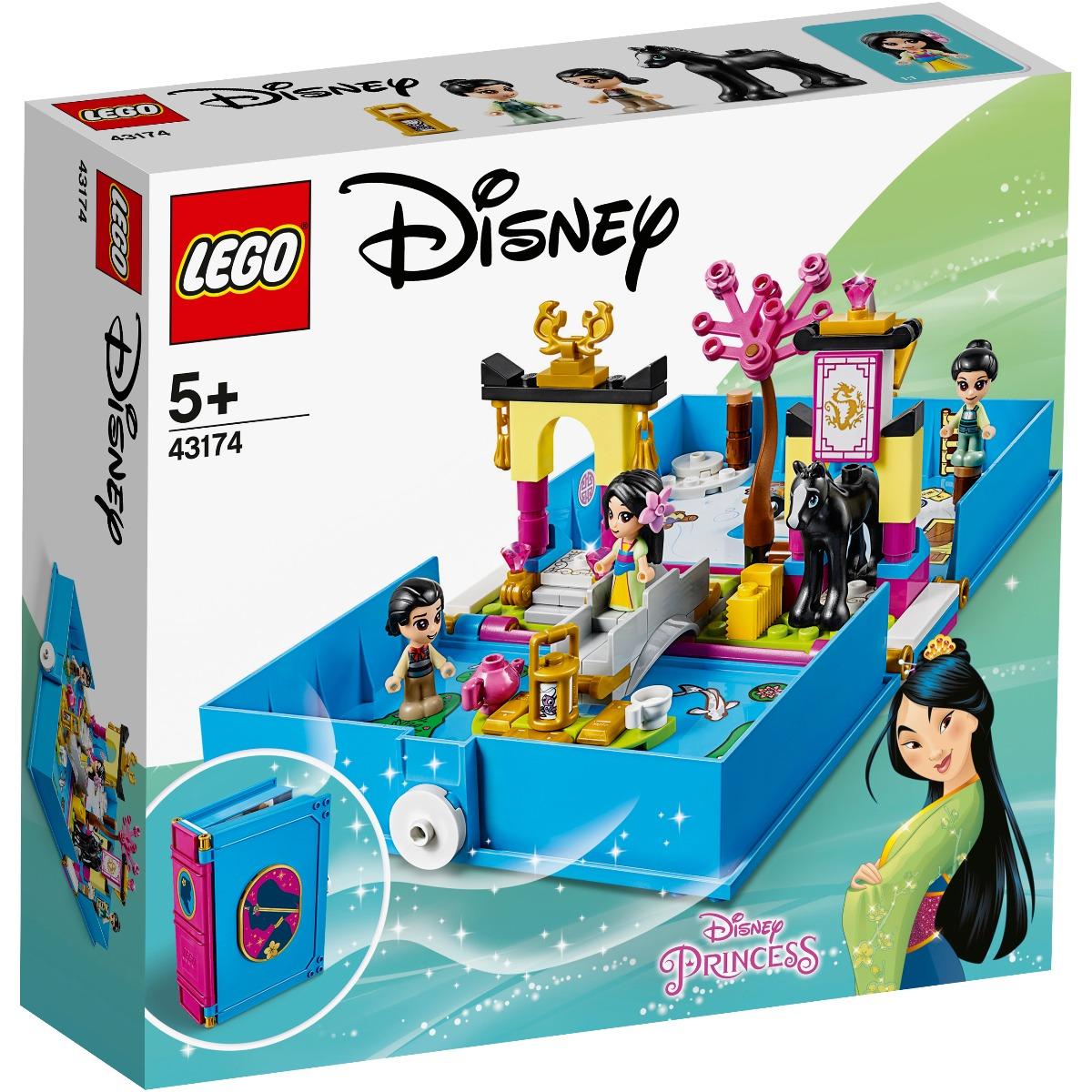 LEGO® Disney Princess - Aventuri din cartea de povesti cu Mulan (43174)