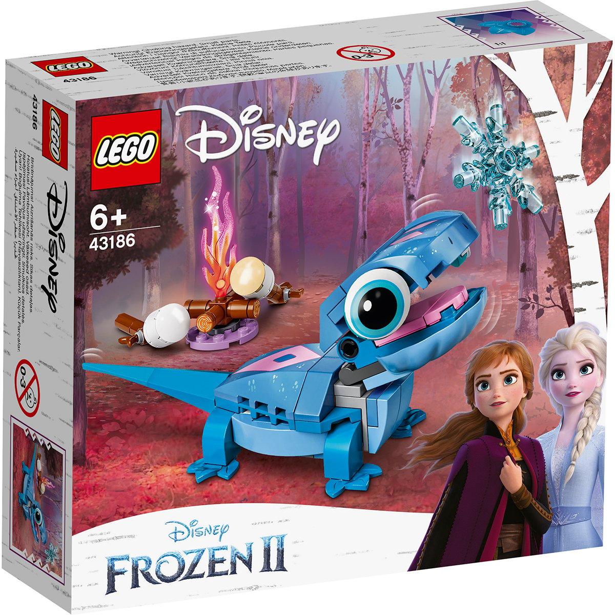 Lego® Disney Frozen 2 - Personaj Construibil Bruni Salamandra (43186)