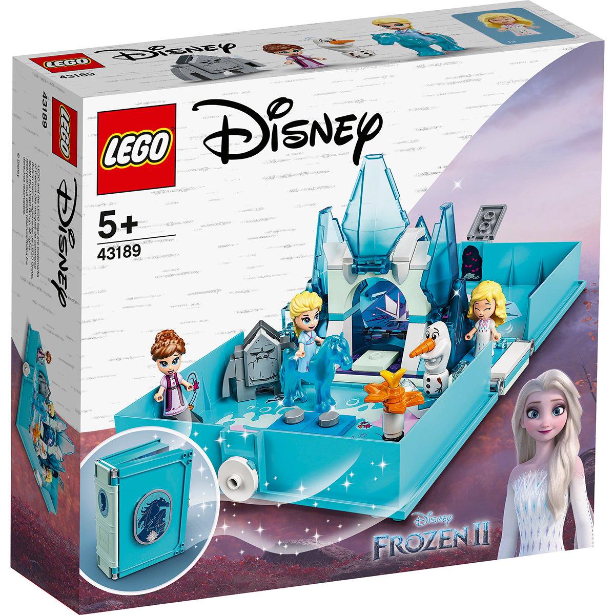 LEGO® Disney Frozen 2 - Aventuri din cartea de povesti cu Elsa si Nokk (43189)