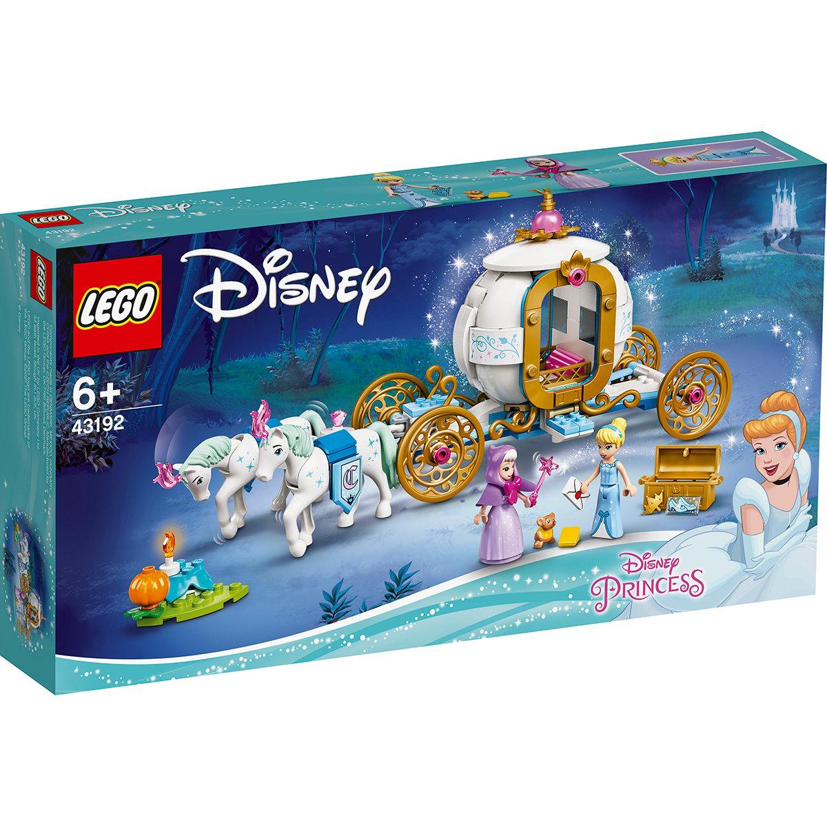 Lego® Disney Princess™ - Trasura Regala A Cenusaresei (43192)