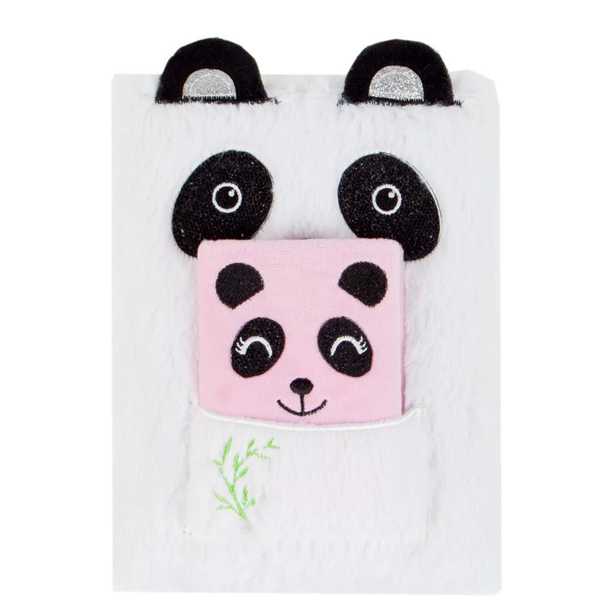 Jurnal cu coperta de plus Starpak, Panda imagine 2021