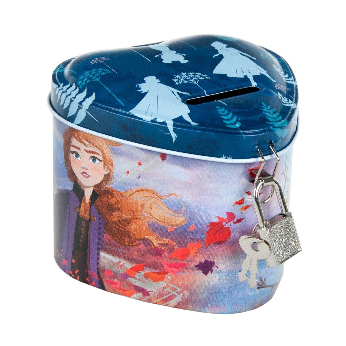 Pusculita din metal cu lacat Starpak, Disney Frozen