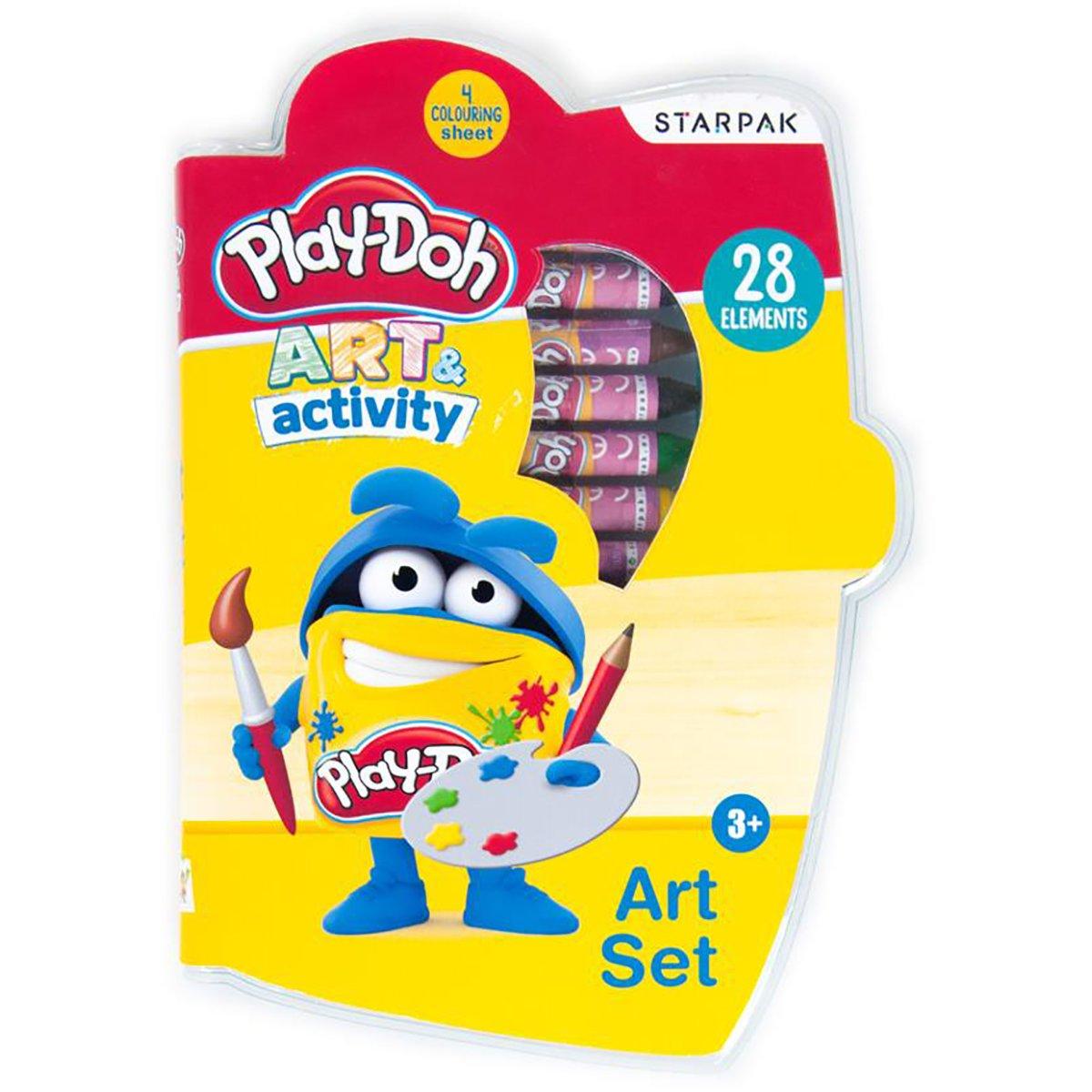 Set de pictura Starpak, Play Doh, 28 piese