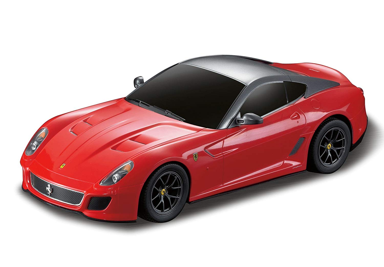 Masina cu telecomanda Rastar Ferrari 599 GTO, 1:24, Rosu