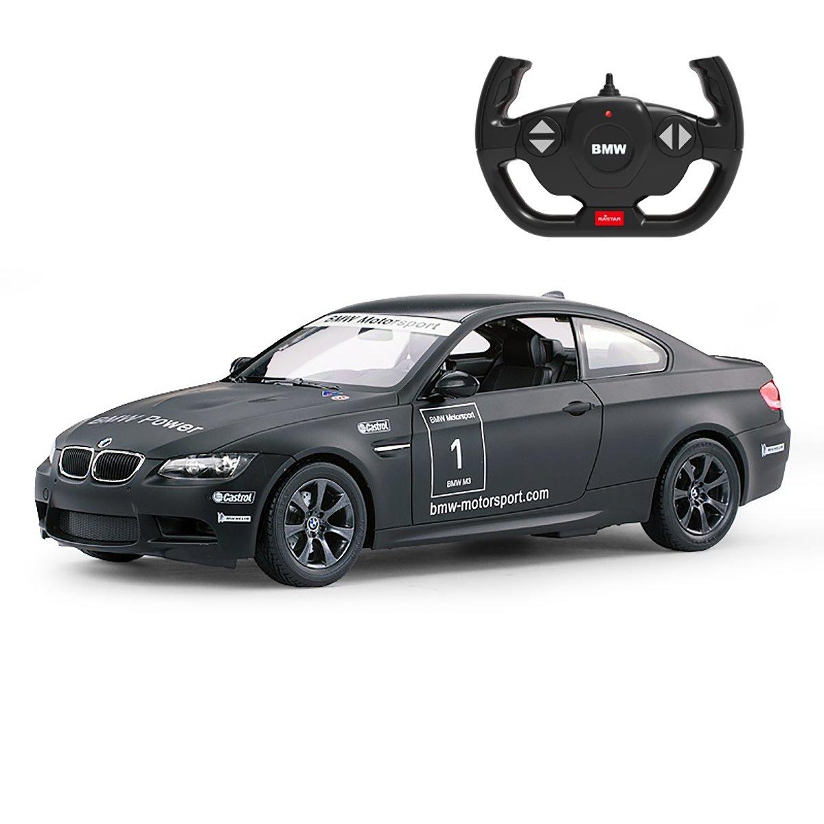 Masinuta cu telecomanda Rastar BMW M3, Negru, 1:14