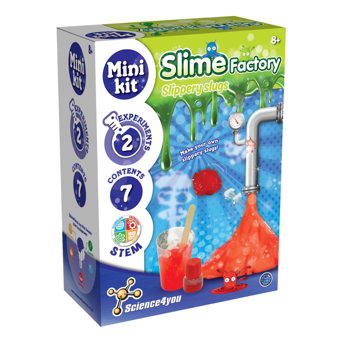 Mini kit de experimente Science4you - Fabrica de Slime