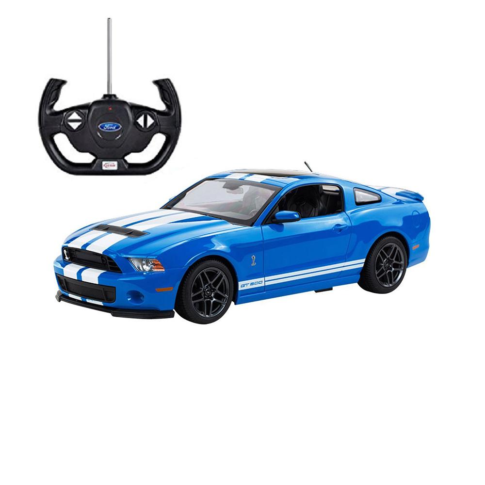 Masina cu telecomanda Rastar Ford Shelby GT 500, 1:14, Albastru