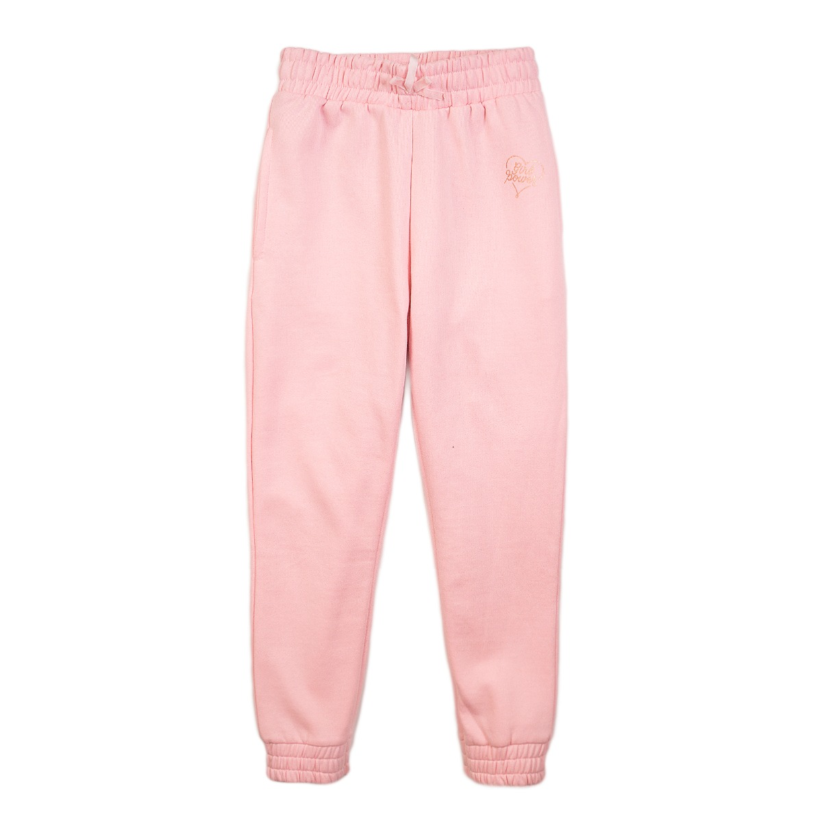 Pantaloni sport Girl Power Minoti 4Kidjpant, Roz imagine