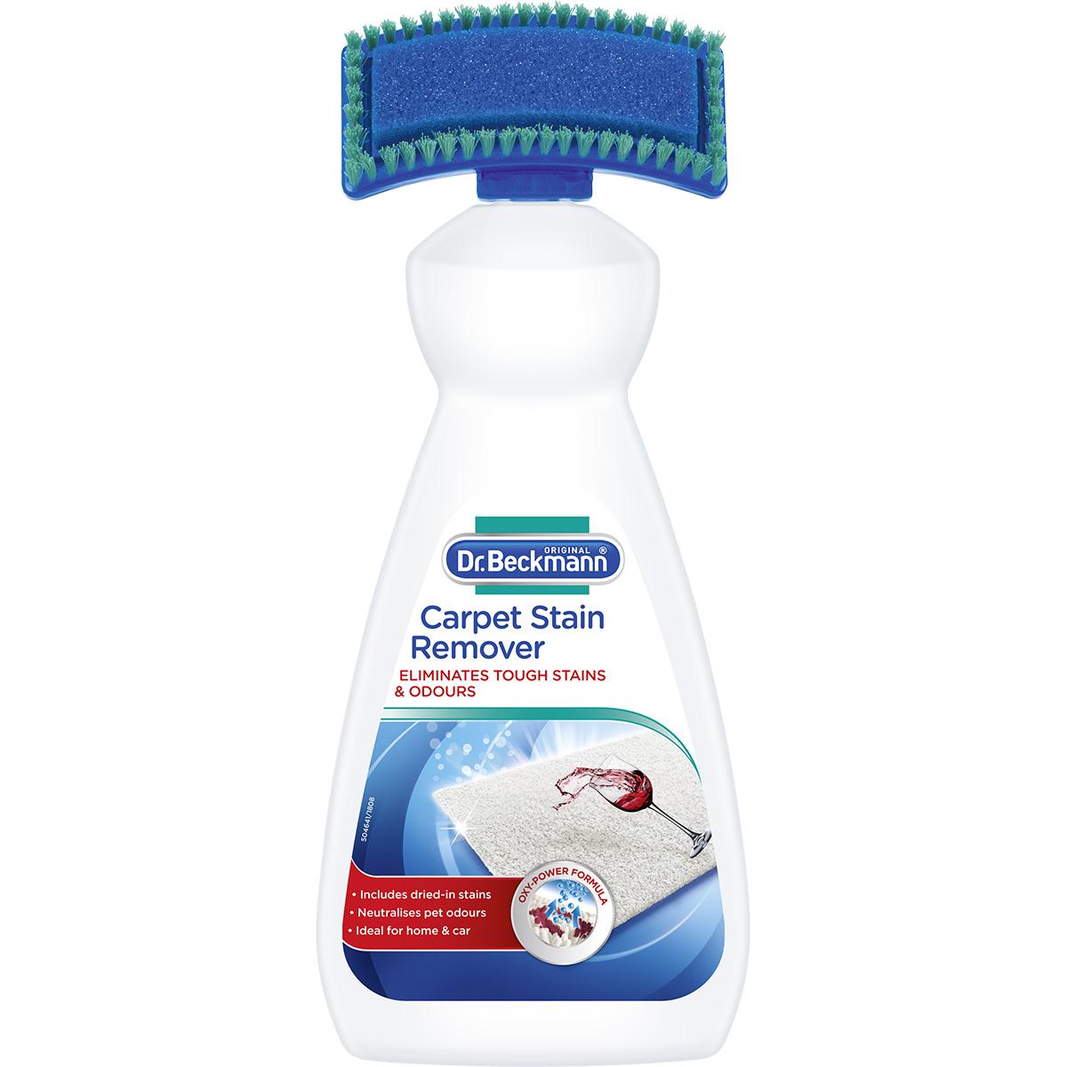 Detergent cu perie pentru covoare si tapiterii Dr. Beckmann, 650 ml imagine