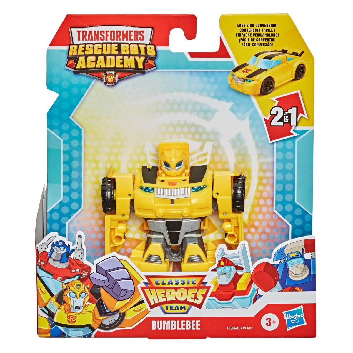 Figurina Rescue Bots, Transformers, Team Rescan, F08865
