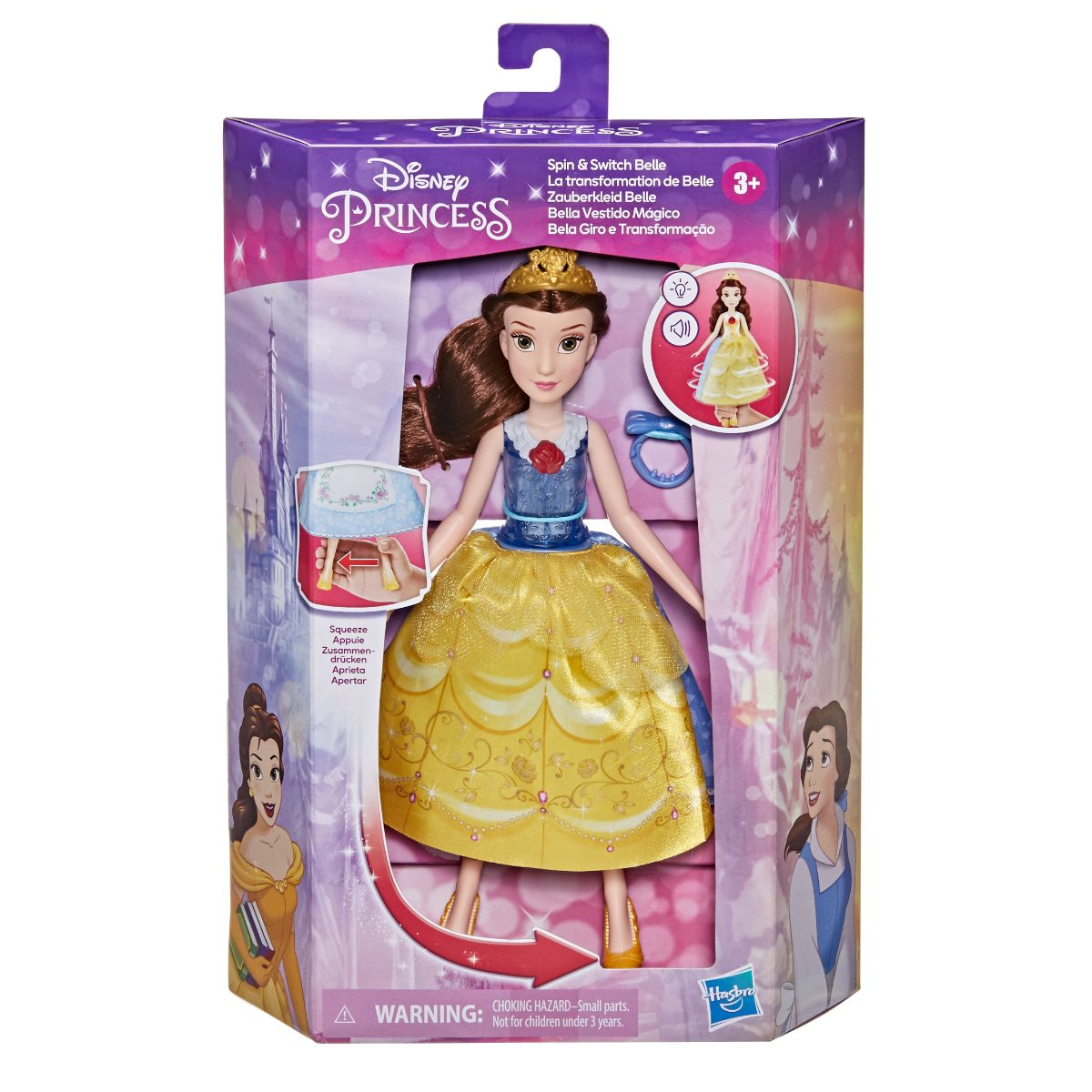 Spin and Switch Belle, Disney Princess
