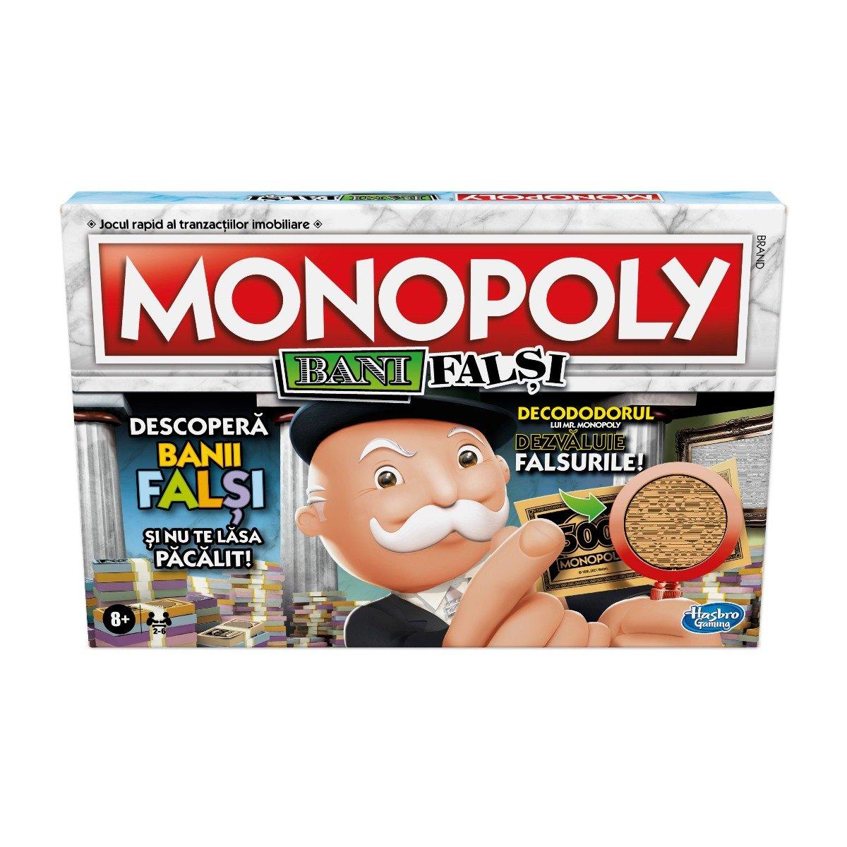 Joc Monopoly, bani falsi