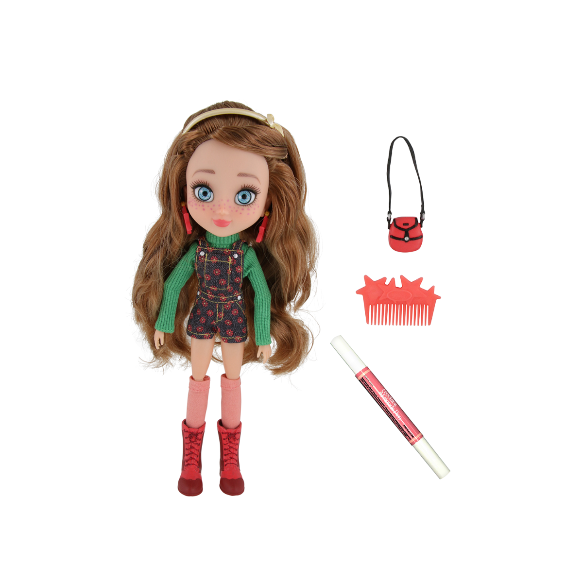 Papusa Freckle And Friends - Girl Fashion