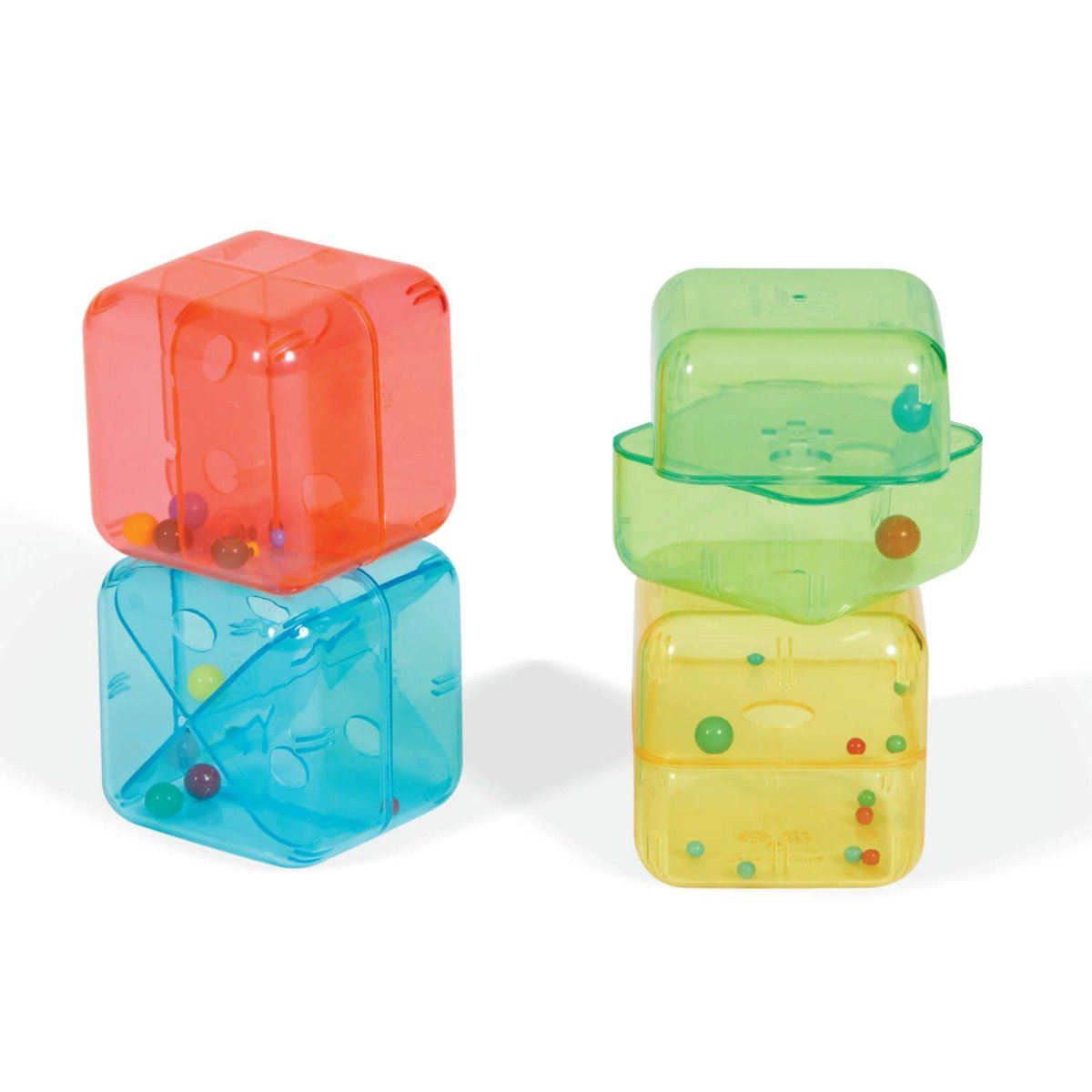 Set 4 cuburi curioase Edushape