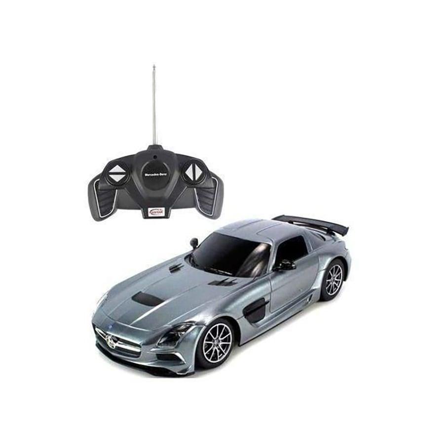 Masinuta cu telecomanda Rastar Mercedes-Benz SLS 1:18, Gri