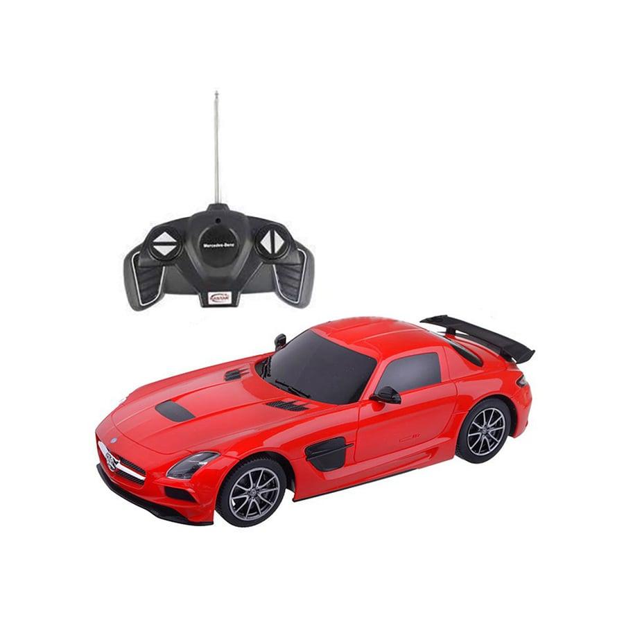 Masinuta cu telecomanda Rastar Mercedes-Benz SLS 1:18, Rosu