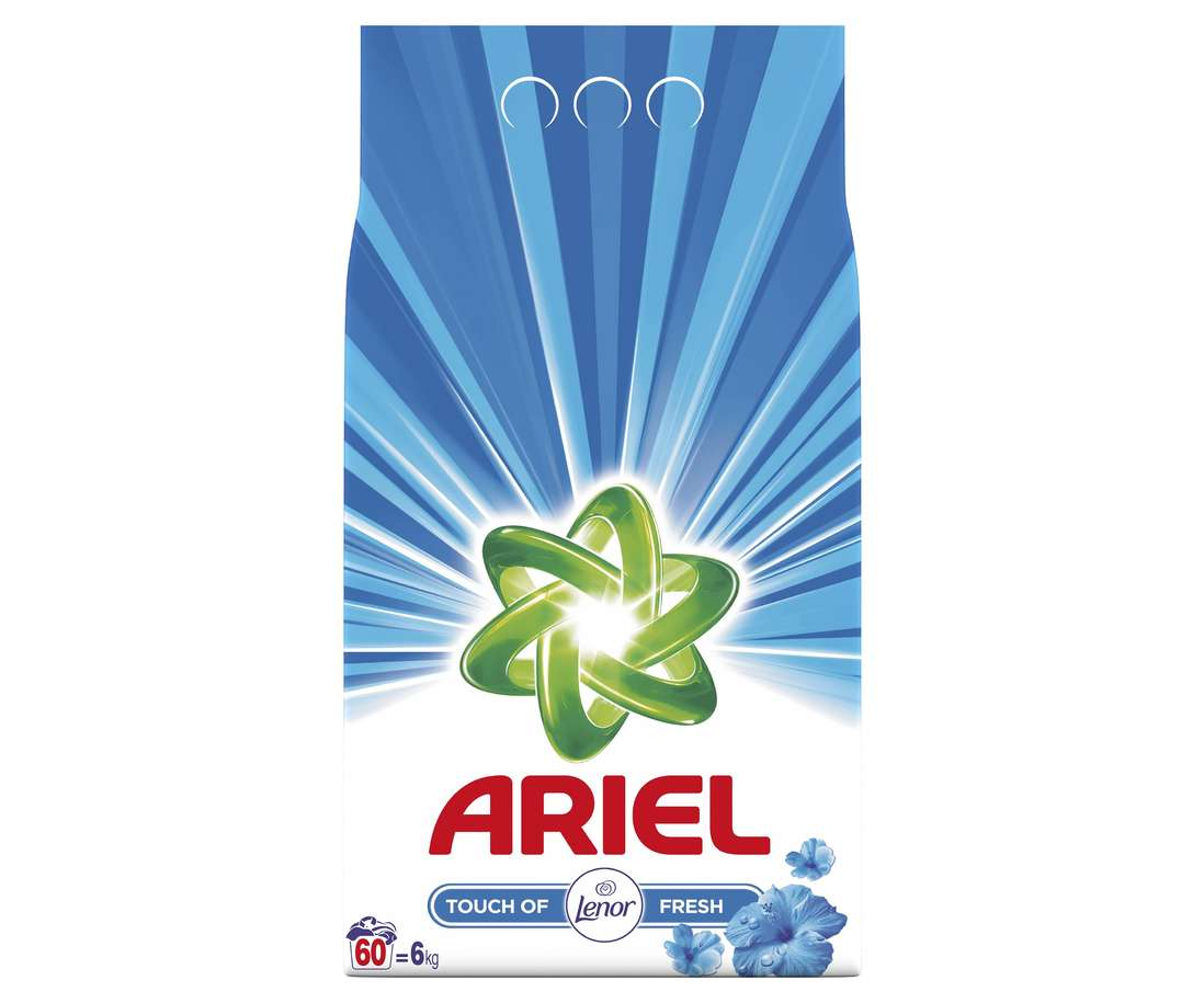 Detergent Ariel Automat Lenor Fresh, 6 Kg imagine 2021
