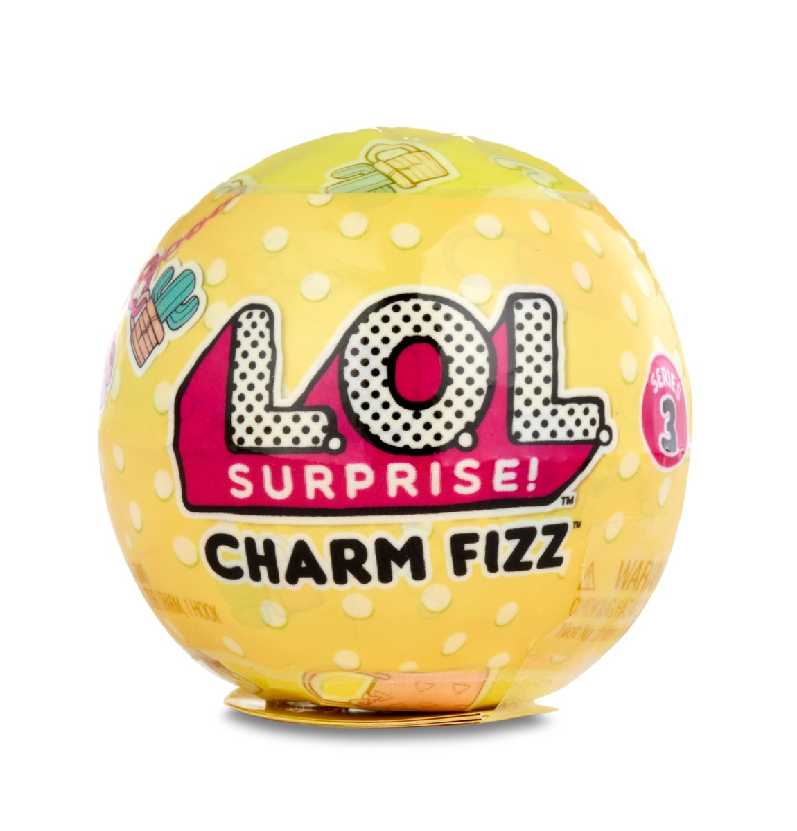 accesorii lol surprise ball - charm fizz (seria 3)