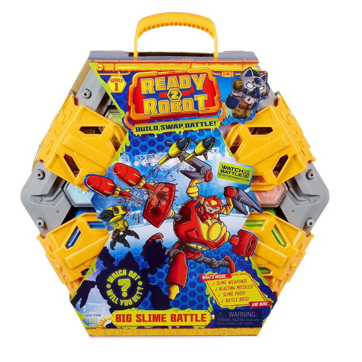 Set De Lupta Si Slime Ready2robot - Big Slime Battle