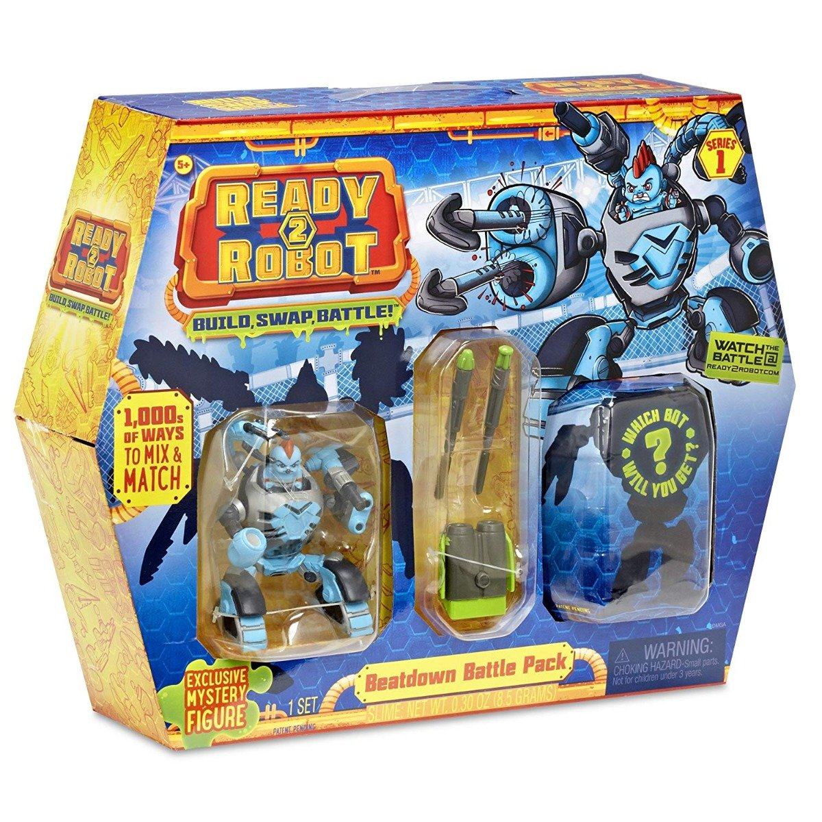 Set De Lupta Ready2robot Seria 1, Battle Pack - Beat Down (553915e5c)