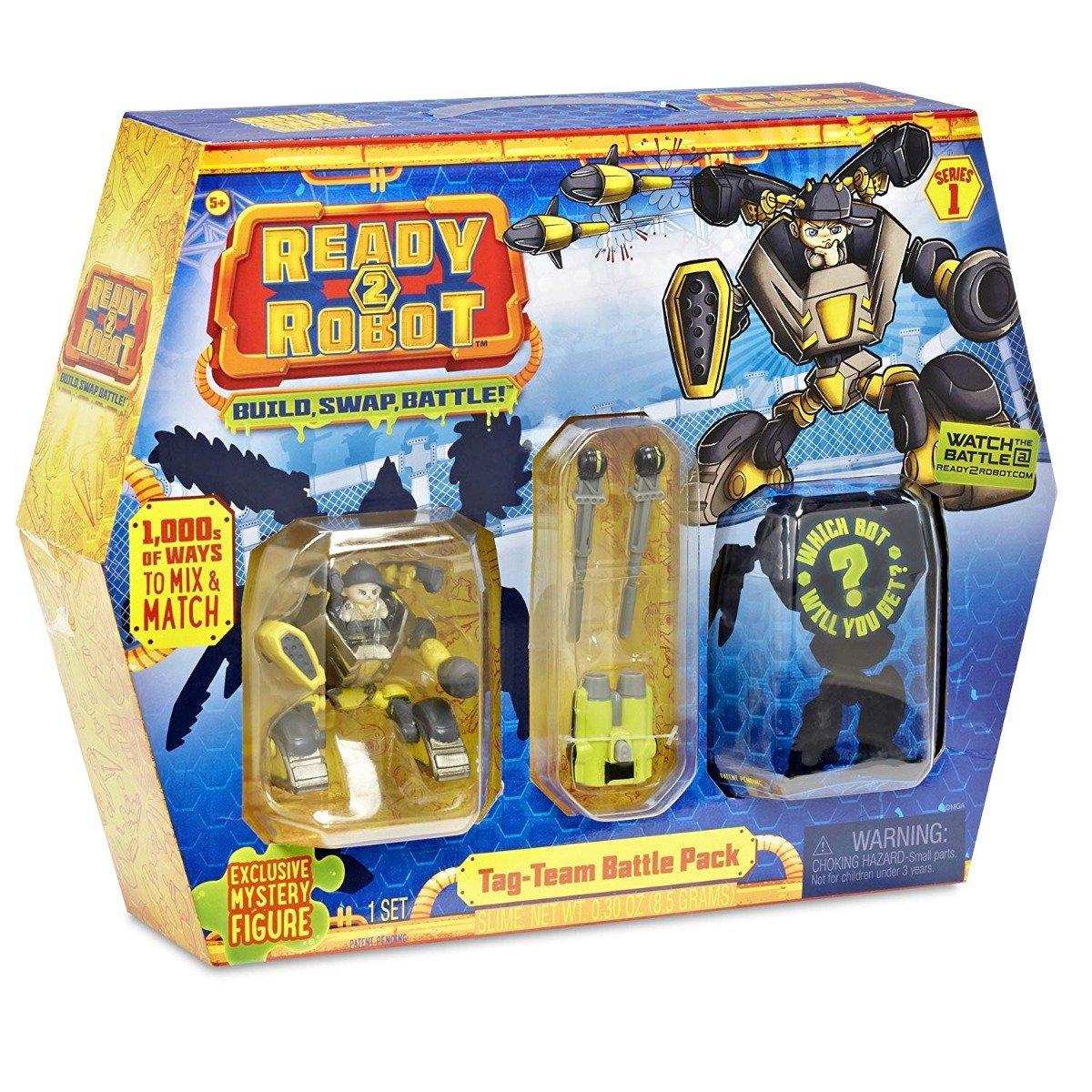 Set de lupta Ready2Robot Seria 1, Battle Pack - Tag Team (553885E5C) imagine 2021