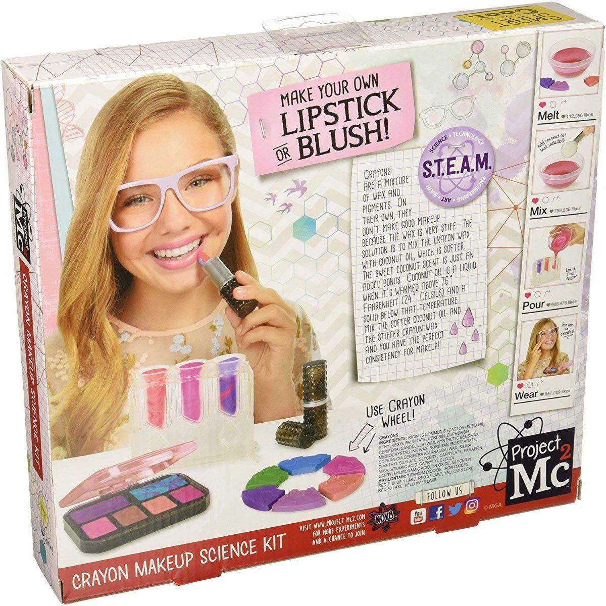 Set De Joaca Project Mc2 - Color Change Makeup Kit