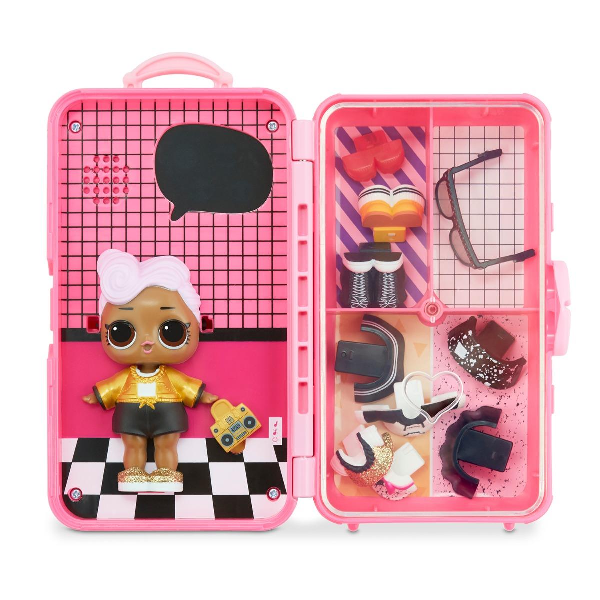 Papusa LOL Surprise Style Suitcase, DJ, 560432