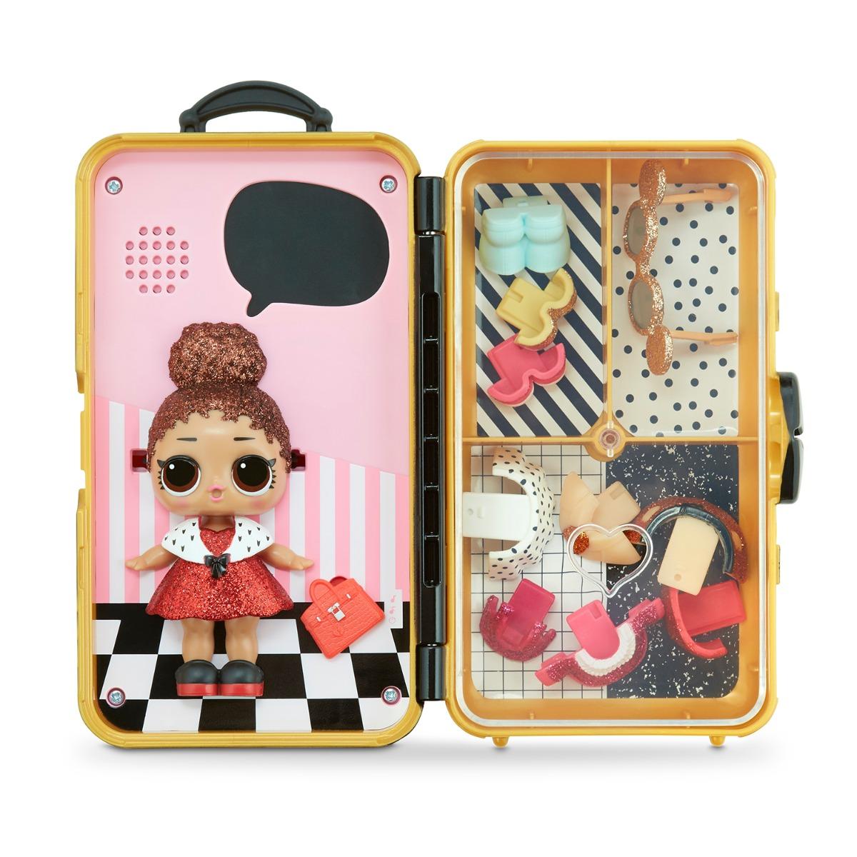 Papusa LOL Surprise Style Suitcase, Boss Queen, 560418
