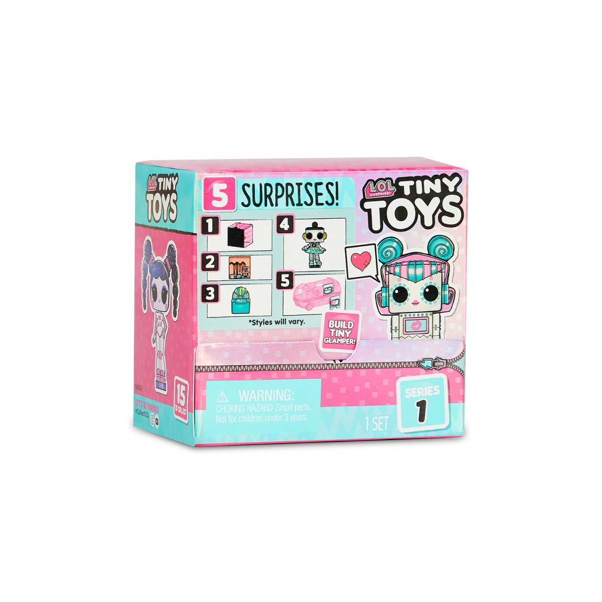 Papusa LOL Surprise - Tiny Toys (565802E7C, 565802X1E7C)