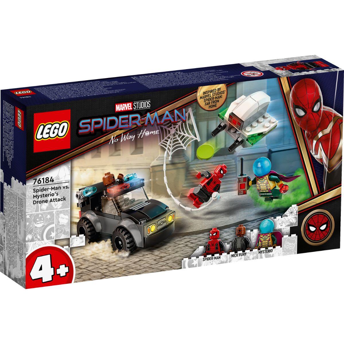 LEGO® Super Heroes - Spider-Man vs Mysterios Drone Attack (76184)