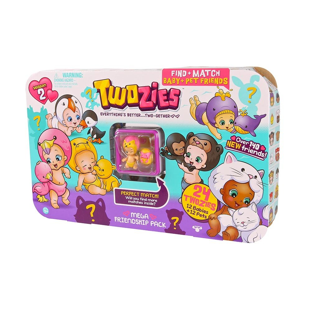 set figurine twozies - mega friendship pack (seria 2)