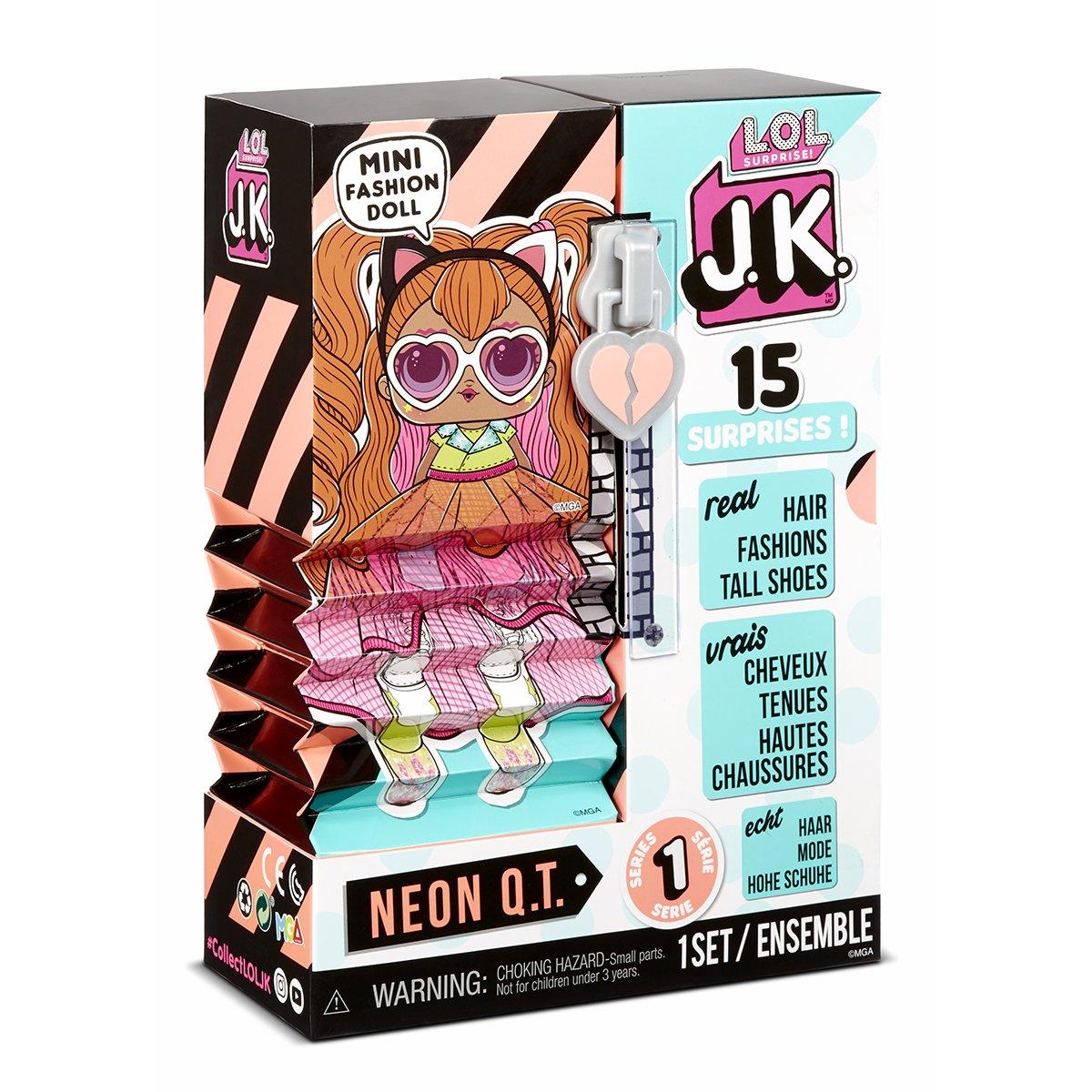 Papusa LOL Surprise JK, Neon QT, 570776