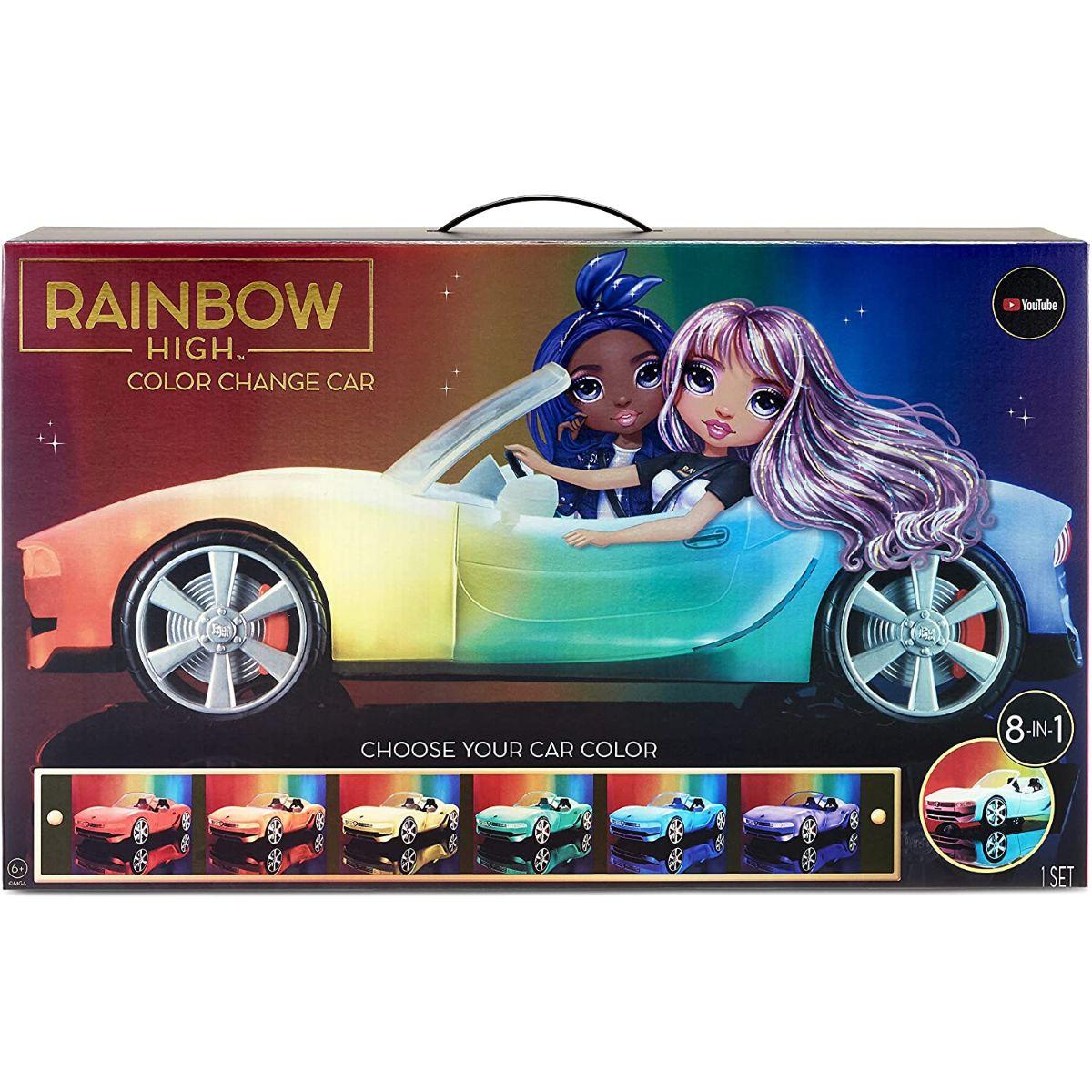 Rainbow High, Masinuta convertibila pentru papusi