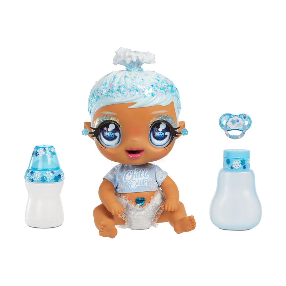 Papusa bebelus, I love U Baby Doll, Light Blue