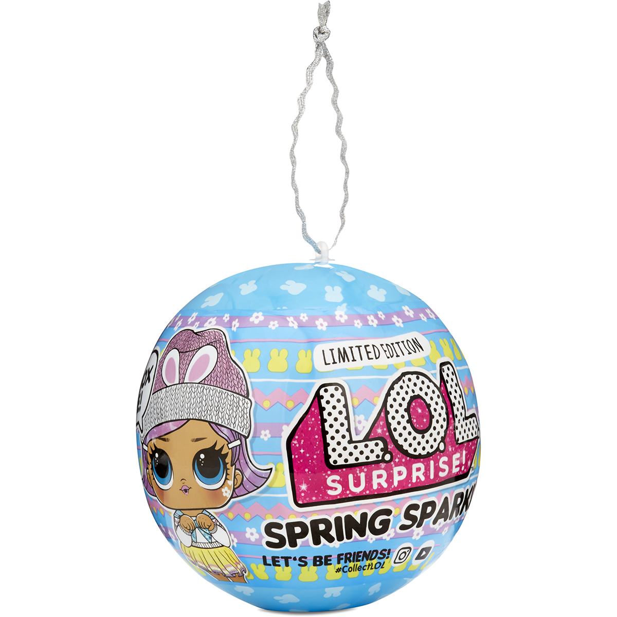 Papusa LOL Surprise Spring Sparkle Bunny Hun, 7 surprize, 575931