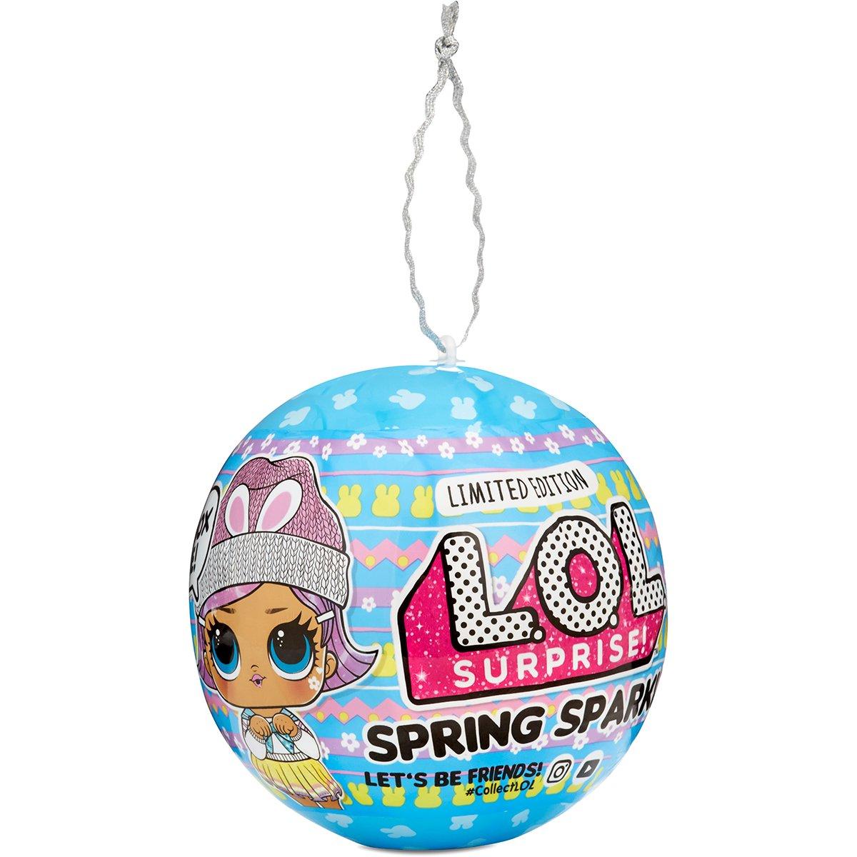 Papusa LOL Surprise Spring Sparkle Bunny Hun, 7 surprize, 575931