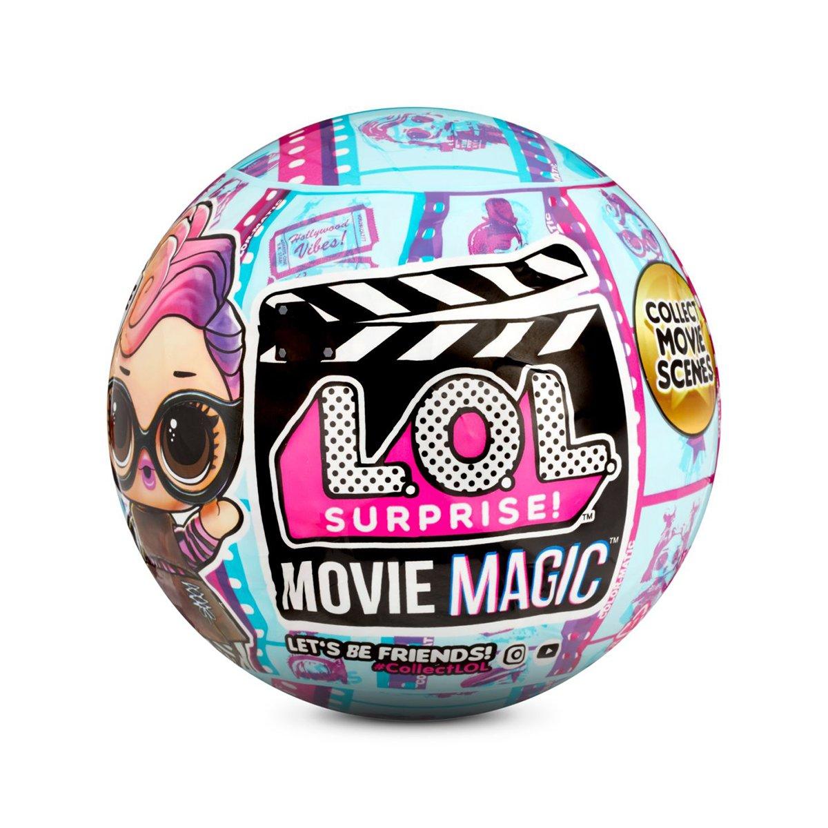 LOL Surprise Movie Magic, Papusa cu 10 surprize, 576471