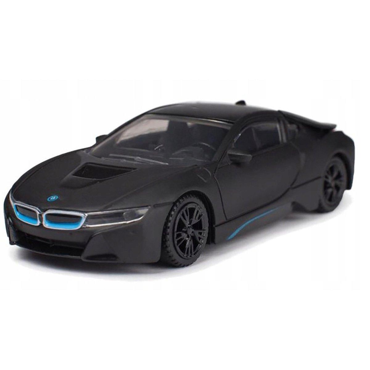 Masinuta Rastar BMW I8, Negru, 1:43