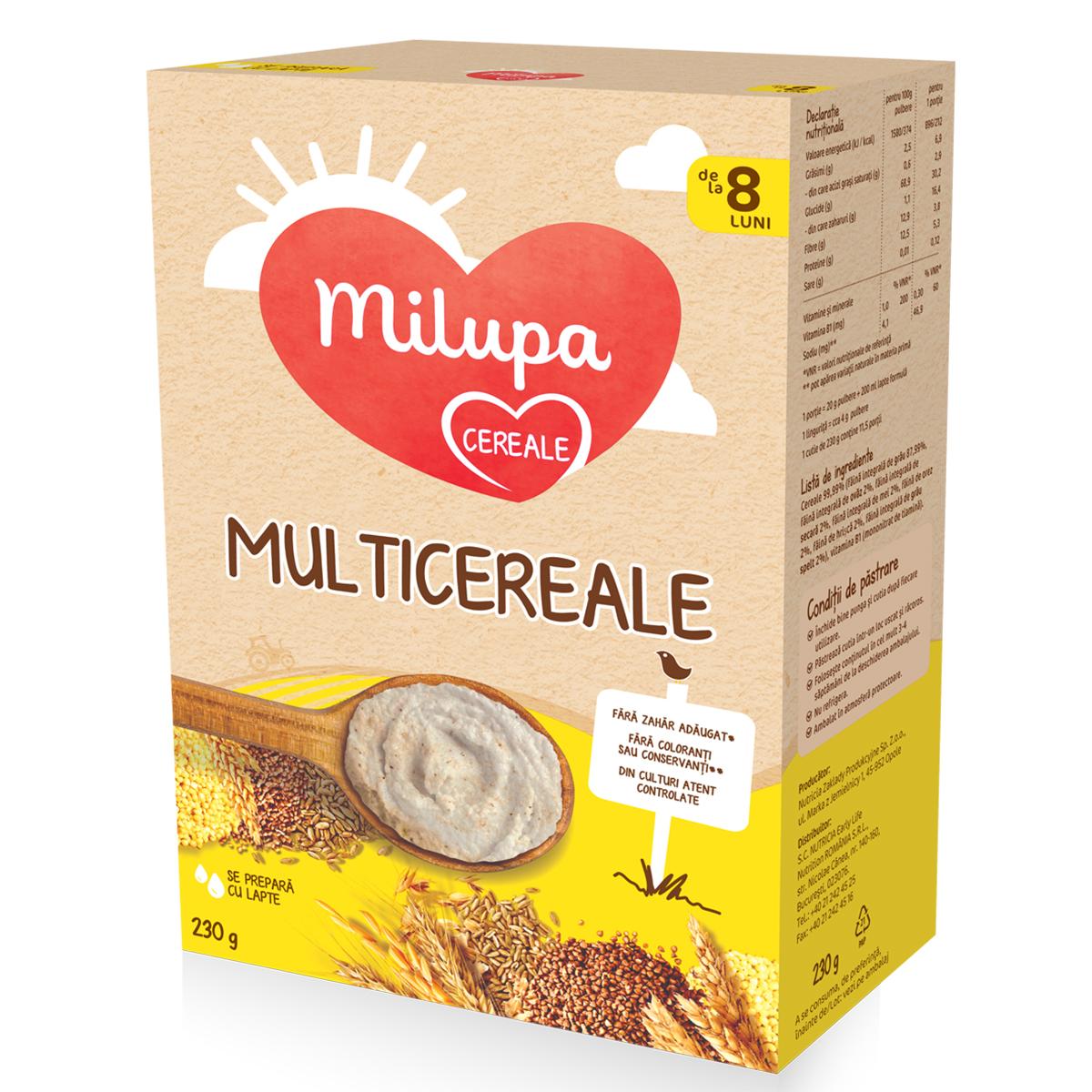 Cereale Milupa - Multicereale 250g imagine
