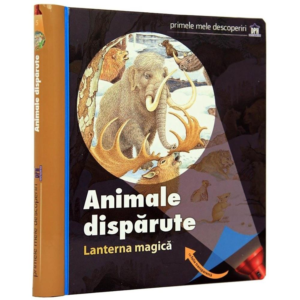 Carte Animale disparute (cu lanterna magica), Editura DPH